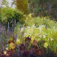 Flowerbed by Rosemary Trestini