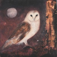 Midsummer eve, owl song by Catherine Hyde