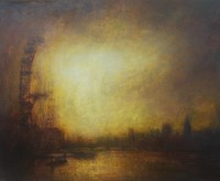 Sunset, Thames, & London Eye by Benjamin Warner