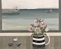 St Ives hellebores by Gemma Pearce
