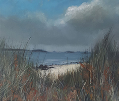 Throught the Marram Grasses by Flynn O'Reilly