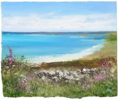 Summer's Day on the beautiful Island of St Martins by Amanda Hoskin