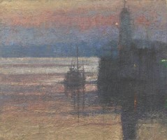 Dawn, Newlyn Harbour by Benjamin Warner