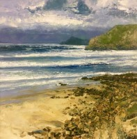Cape Cornwall from Sennen Cove by John Brenton