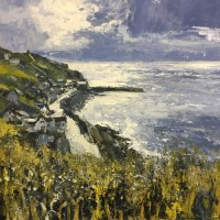 Light over Sennen Cove by John Brenton