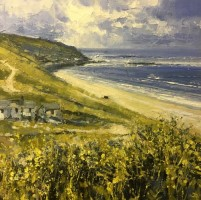 Sennen Cove Above Vellandreath by John Brenton