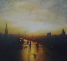 Sunset, Tower Bridge  by Benjamin Warner