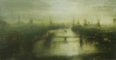 Thames towards Battersea Power Station  by Benjamin Warner