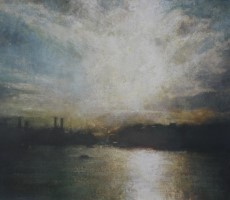 Autumn, Battersea Power Station I by Benjamin Warner