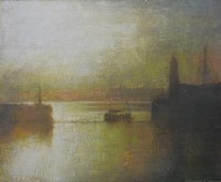Sunrise, Newlyn by Benjamin Warner