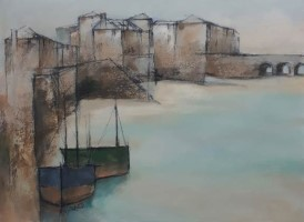 Harbour shapes St Ives by Michael Praed