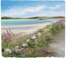 On the path to New Grimsby by Amanda Hoskin