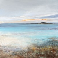 Evening light, Isles of Scilly by Amanda Hoskin