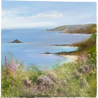 Summer's day on Tresco, Isles of Scilly by Amanda Hoskin