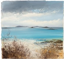 Clouds build over the Islands, Tresco by Amanda Hoskin