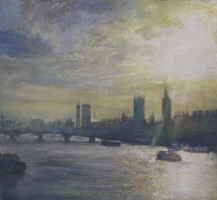 Breaking light, Westminster  by Benjamin Warner