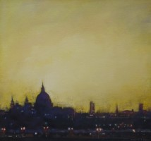 Evening, St Pauls by Benjamin Warner