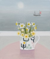 Primroses and Narcissi by Gemma Pearce