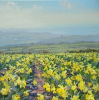 Spring Morning, above Ludgvan by Mark Preston