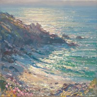 Summer Evening, Veor Cove by Mark Preston