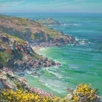 Turquoise Waters, from Zennor Head by Mark Preston
