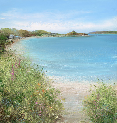 Path to the Beach, Old Grimsby by Amanda Hoskin