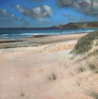 Gleaming White Sands, Sennen by Flynn O'Reilly