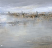 A misty evening, view from the London Eye by Amanda Hoskin