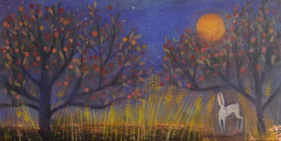 Leading the harvest home (The Hare and the Moon) by Catherine Hyde
