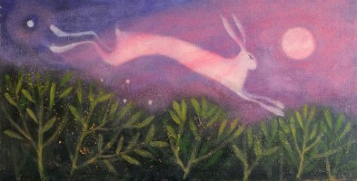 Midsummer's night (The Hare and the Moon) by Catherine Hyde