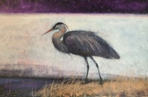 Silently, into the cool evening by Catherine Hyde