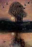 The ebbing river by Catherine Hyde