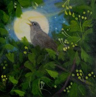 The nightingale sang  (The Hare and the Moon) by Catherine Hyde