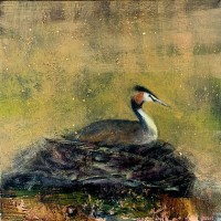 The pollen coated river by Catherine Hyde