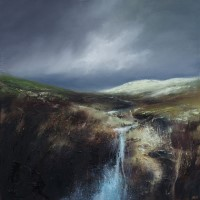 Moorland stream by Alan Stratford
