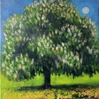 April's tree, the Horse Chestnut by Catherine Hyde
