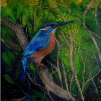 August's Kingfisher by Catherine Hyde