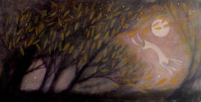 Broomstick madness of the night by Catherine Hyde