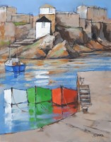 Harbour reflections by Michael Praed