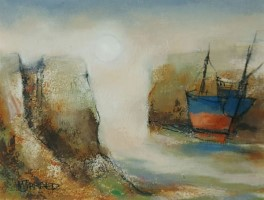 Awaiting the tide II by Michael Praed