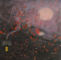 At the edge of twilight by Catherine Hyde