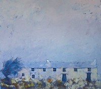 Soft blue by John Piper