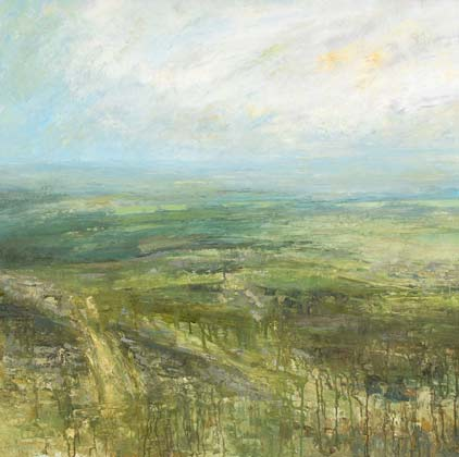 Looking Across The Quarry From The Cheesewring, Bodmin Moor by Benjamin Warner