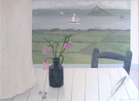 Fritillary and view of Mount by Gemma Pearce