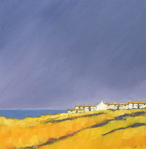 Coastal cottages I by John Piper