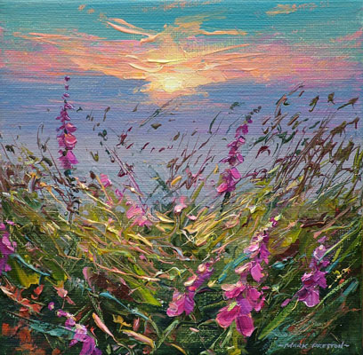 Summer evening, Rosewall by Mark Preston