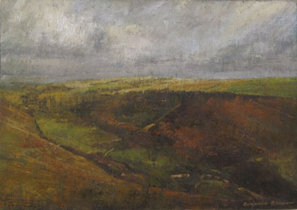 View along Coombe Valley by Benjamin Warner