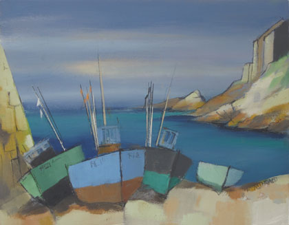 Cove boats by Michael Praed