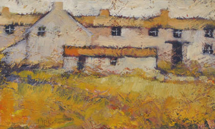 Ochre terrace by John Piper