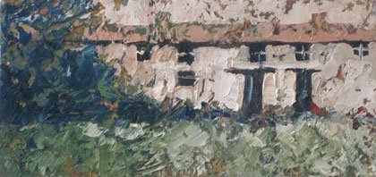 Cottages by John Piper